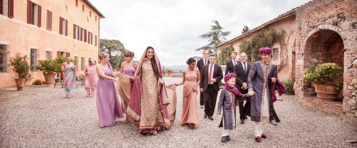 Pakistani wedding in Italy