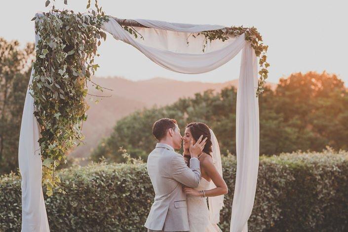 Family destination wedding at Borgo Colleoli Resort, Tuscany