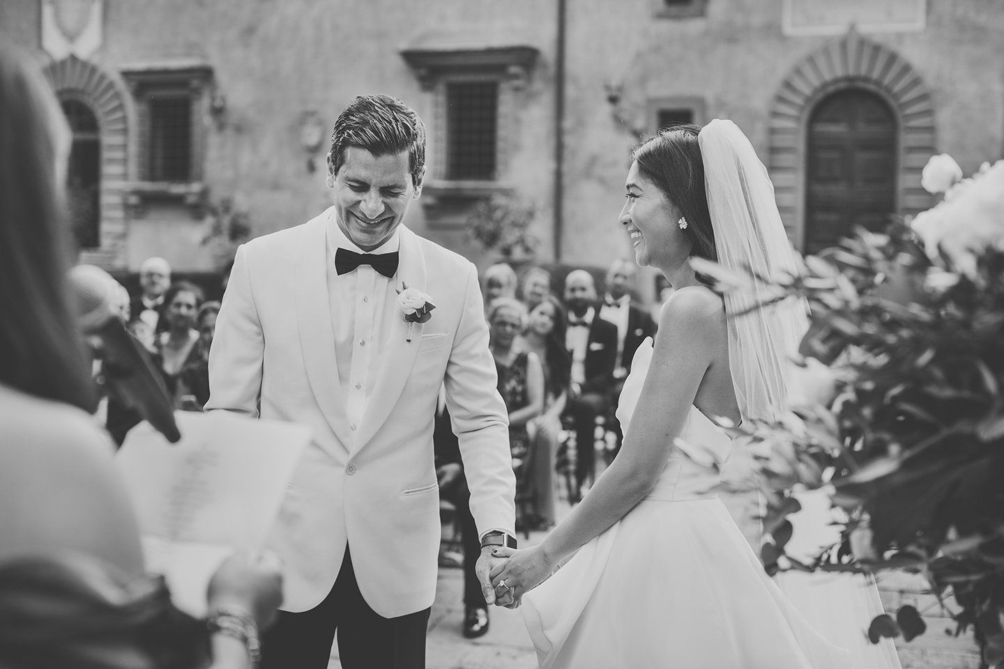 outdoor-blessing-fusion-wedding-ceremony-at-Vignamaggio-Tuscany-