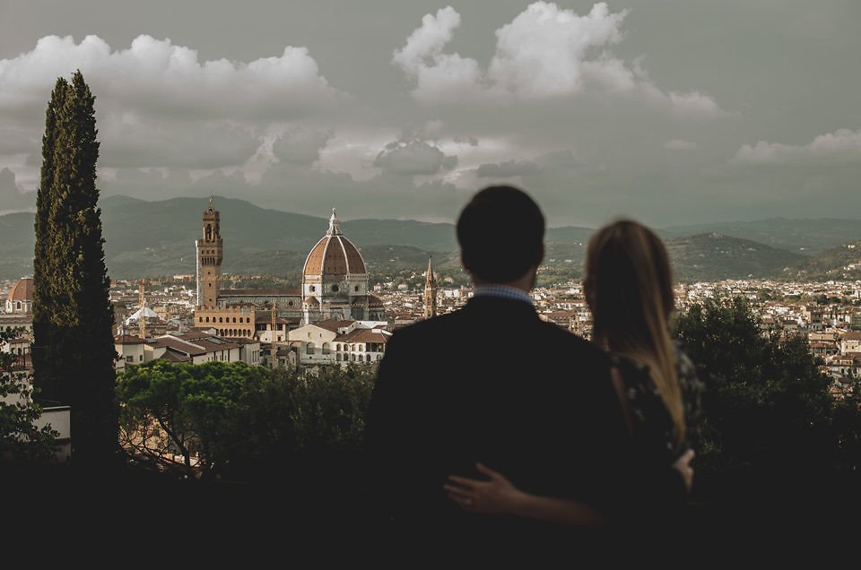 Intimate Wedding day in Florence