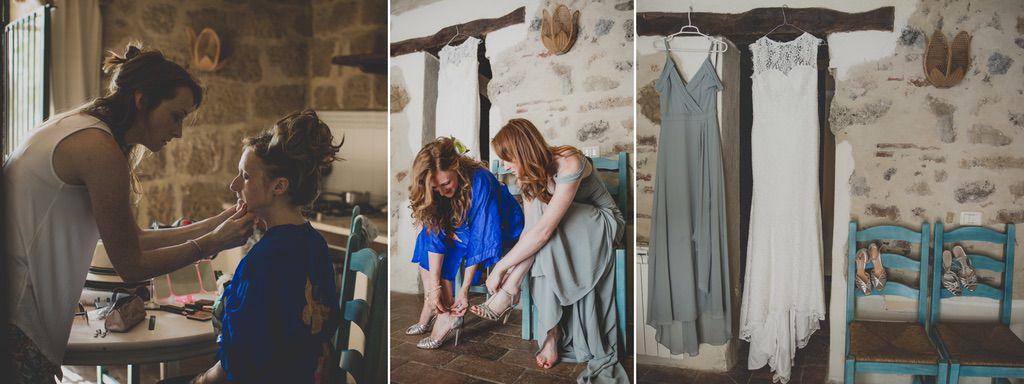 bride-maid-of honor-getting-ready-destination-wedding-tuscany