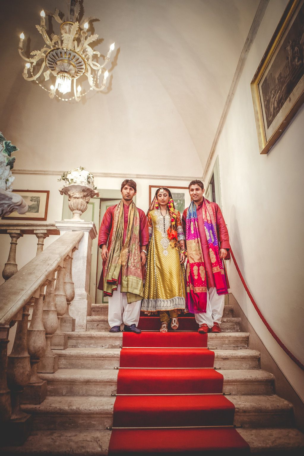 Sana-Safinaz-traditional-dresses-Nikka-ceremony-Pakistani-wedding-villa-catignano