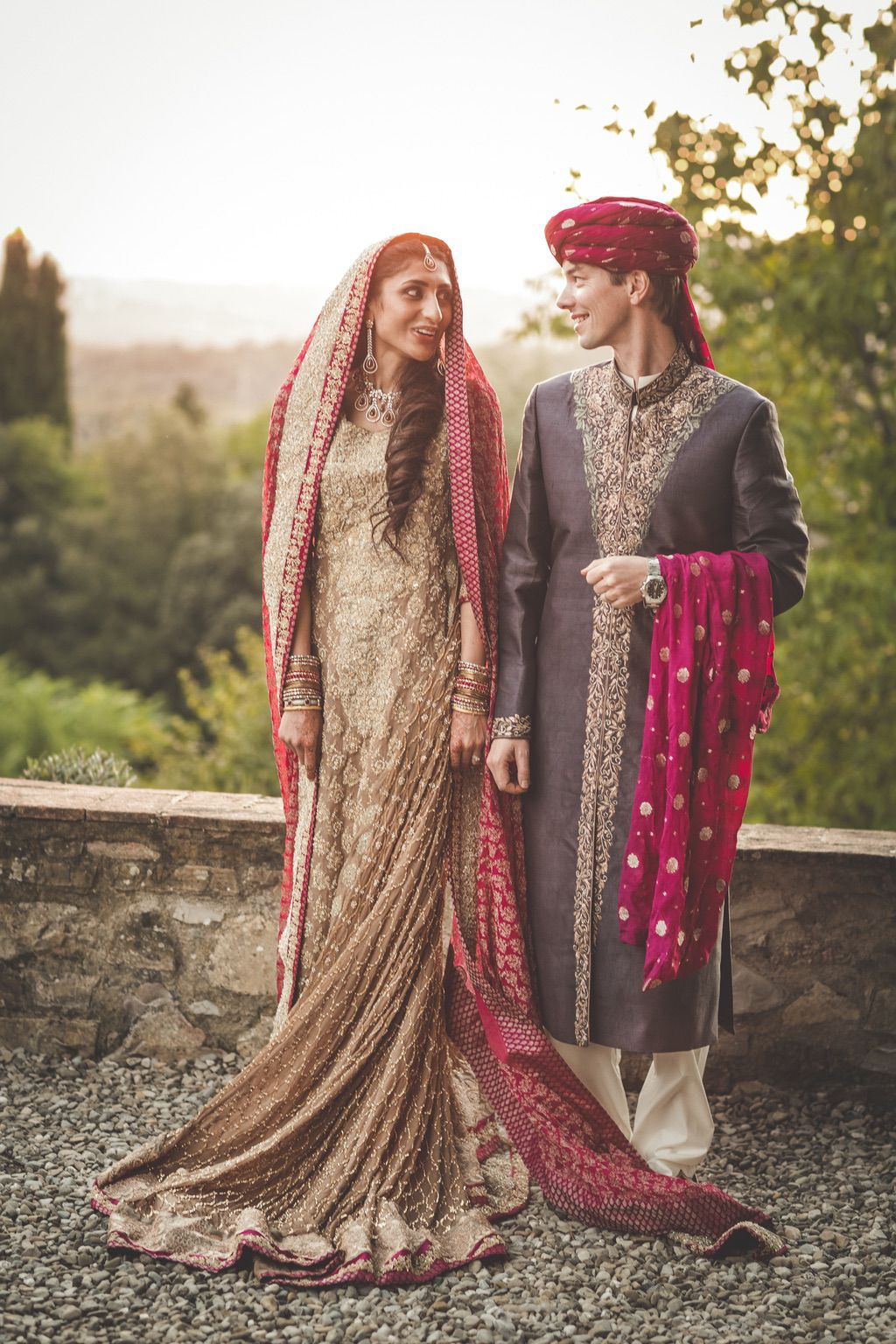 Sana-Safinaz-Pakistani-wedding-dress-villa-catignano-tuscany