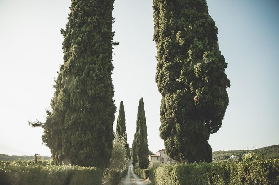 A Wedding in a private family villa in Florence