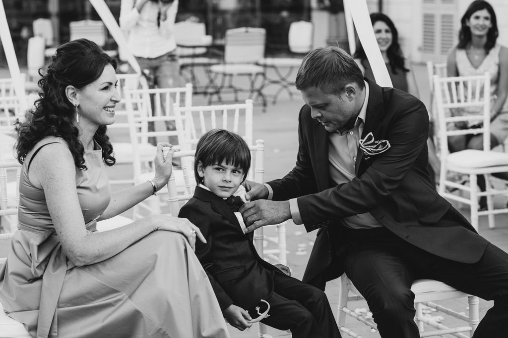 wedding blessing intimate ceremony in Firenze Italy