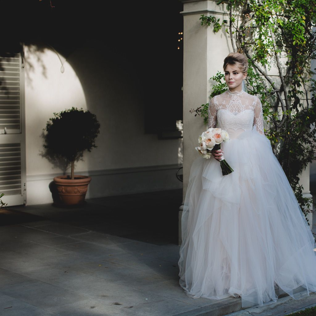 bride portrait real intimate wedding in Firenze Italy