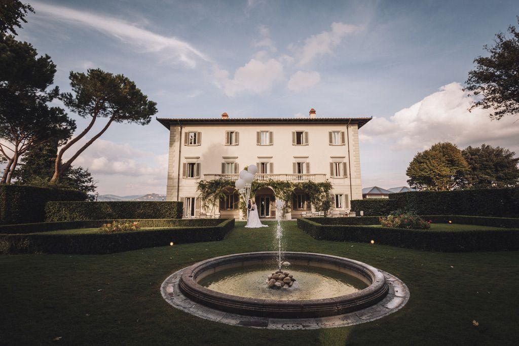 Villa Vedetta luxury wedding venue in Firenze Italy