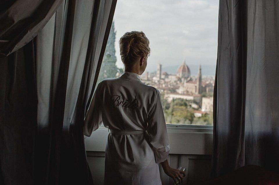 Firenze intimate luxury wedding day